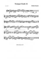 Trumpet Etude 12