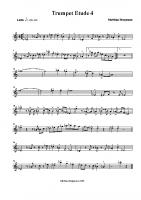 Trumpet Etude 4