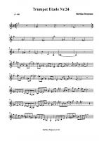 Trumpet Etude 24