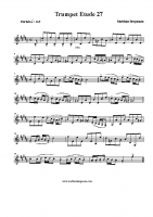 Trumpet Etude 27