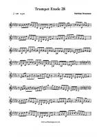 trumpetetude28