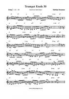 Trumpet Etude 30 (Giant Steps)