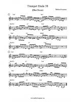 Trumpet Etude 38 (Blue Bossa)