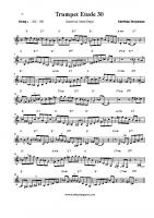 Trumpet Etude 30 C (Giant Steps)