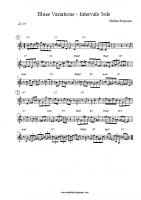 Blues Variations – Intervals 3rds
