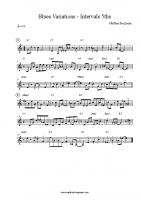 Blues Variations – Intervals 5ths
