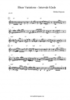 Blues Variations – Intervals b2nds