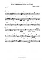 Blues Variations – Intervals b3rds
