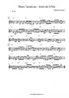 Blues Variations – Intervals b5ths