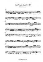 Jazz Vocabulary No 19