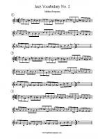 Jazz Vocabulary No 2
