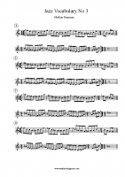 Jazz Vocabulary 3