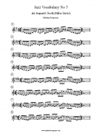 Jazz Vocabulary No 5