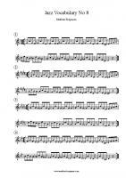 Jazz Vocabulary No 8