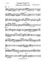 Trumpet Etude 44 – Pentatonics on Milestones